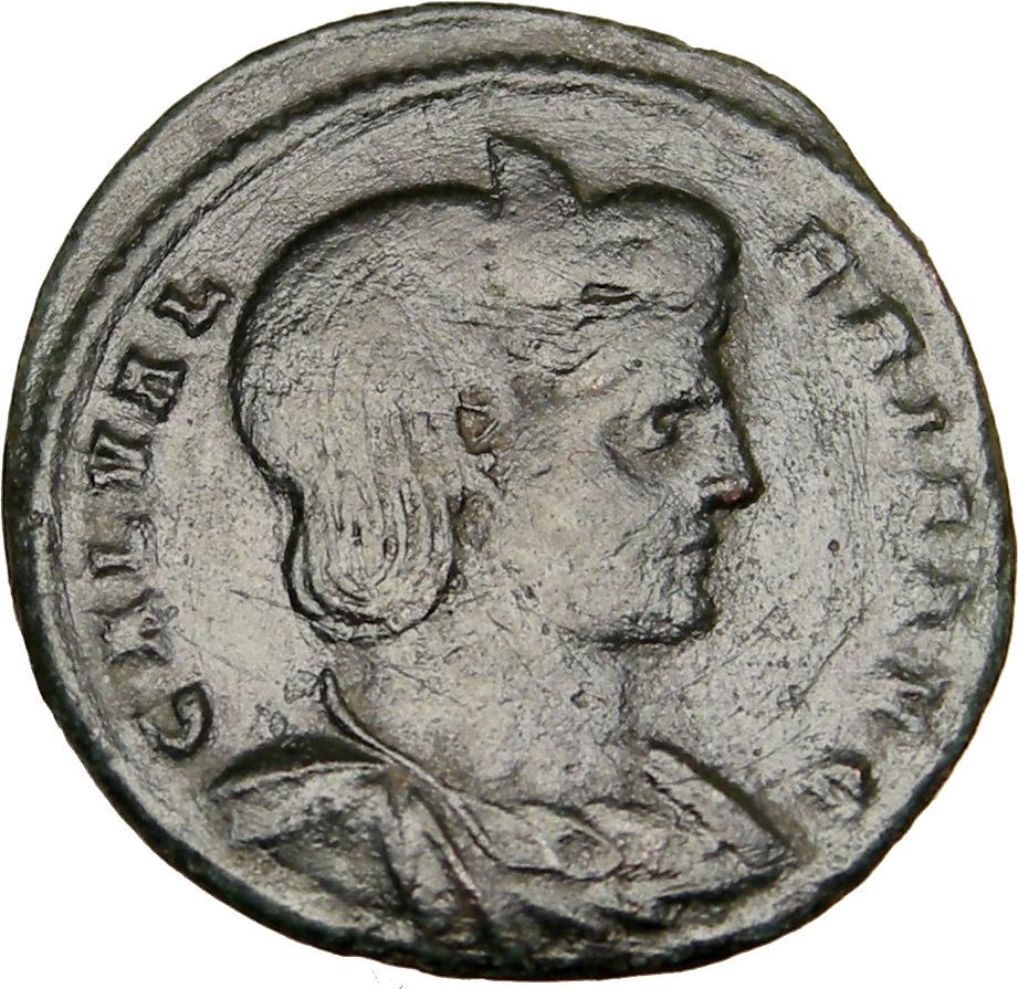 Galeria Valeria: GALERIA VALERIA Diocletian Daughter 310AD Ancient Roman