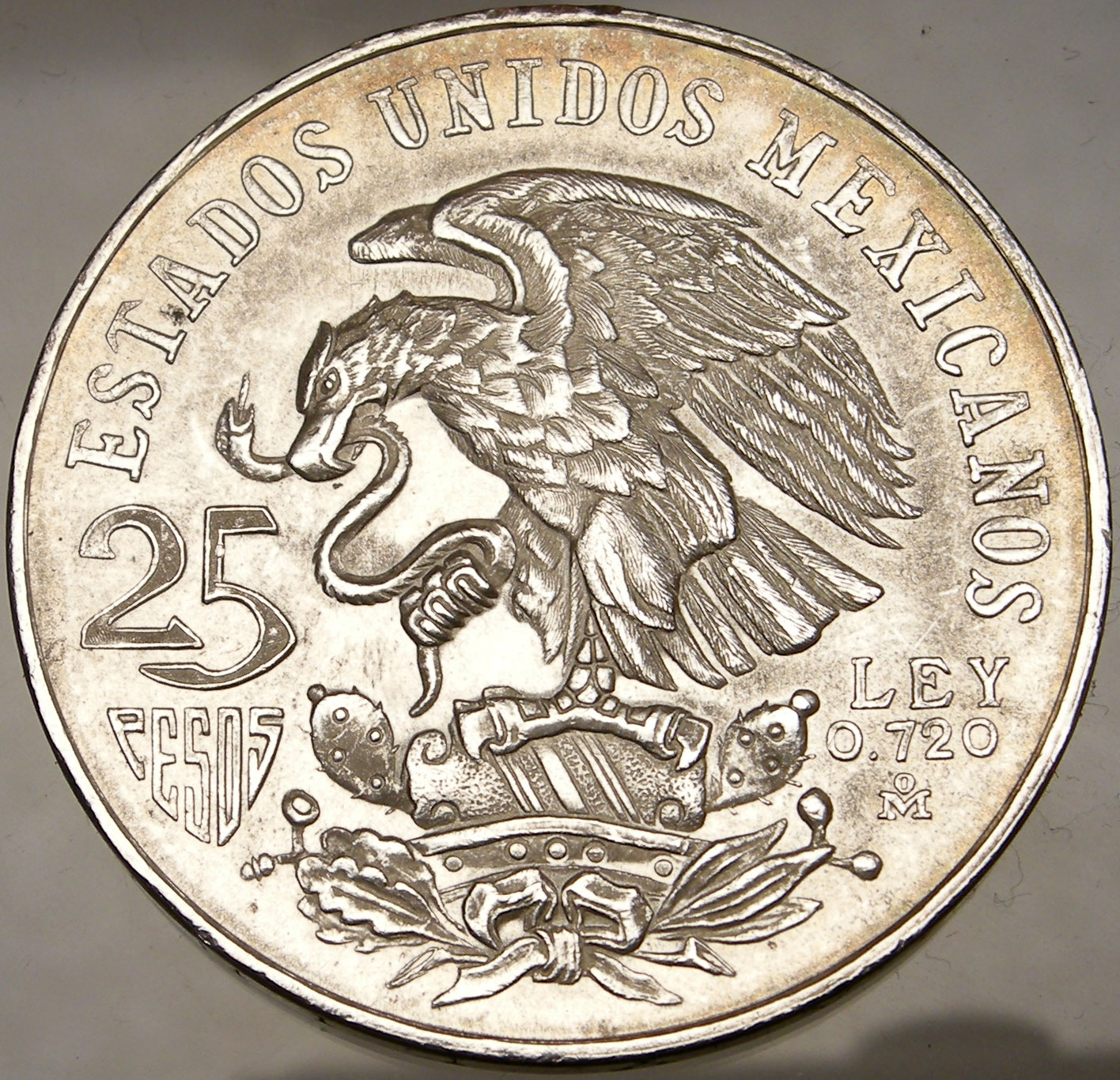 Summer Olympics Xix Mexico City 1968 Silver Authentic Mexican Coin Mexican Coat Ebay