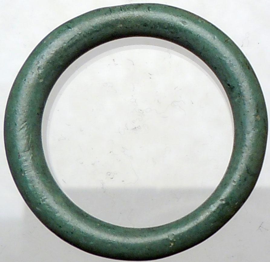 authentic ancient 800bc celtic ring proto money quot coin