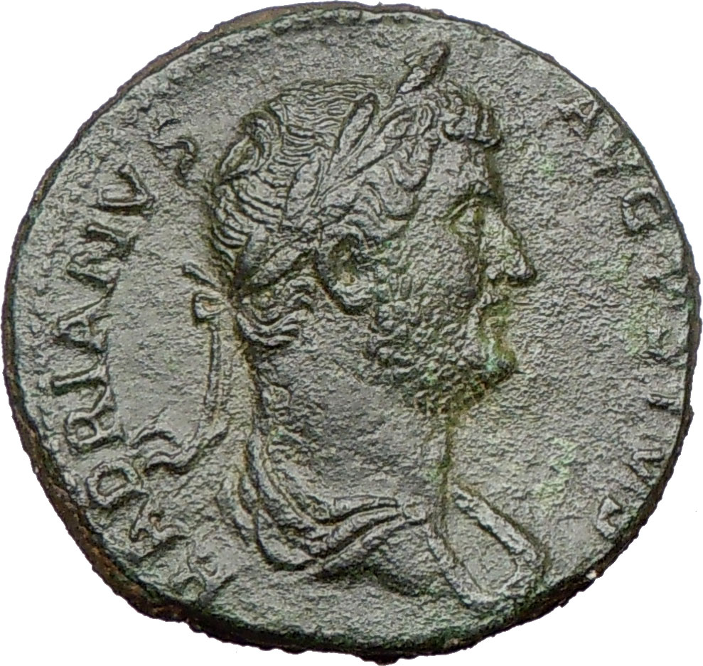 HADRIAN Sestertius Rare Authentic Ancient Roman Coin SHIP David R Sear ...