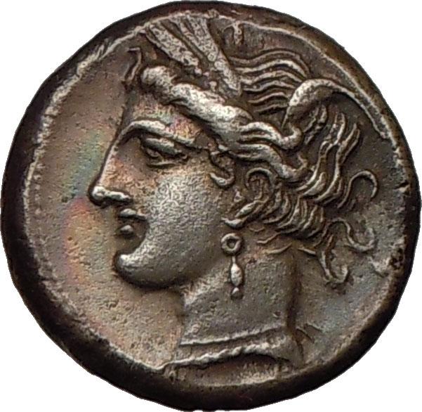 Details about CARTHAGE 300BC Didrachm SILVER Greek Coin David R Sear
