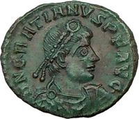 Gratian ancient roman coin