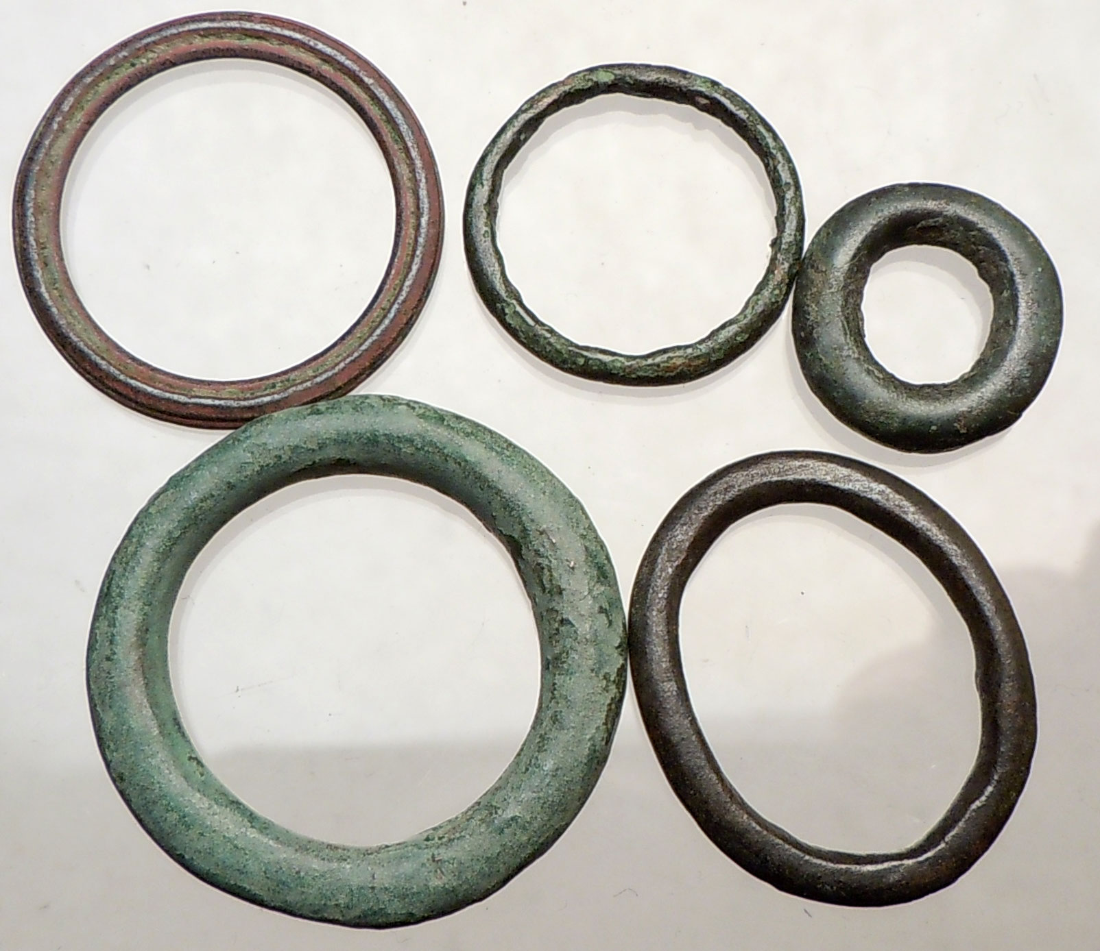 celtic 800bc authentic ancient ring money proto coin lot