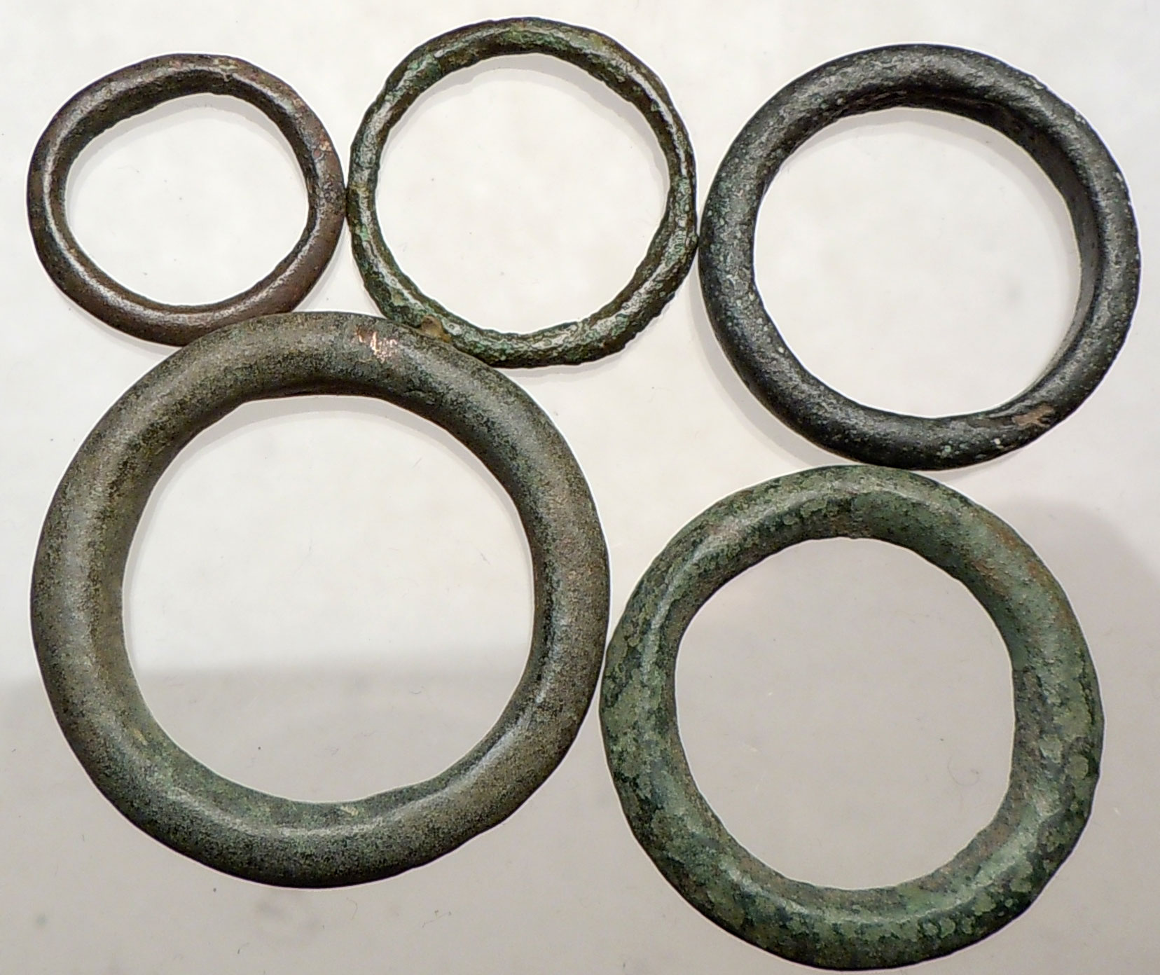 celtic 800bc genuine ancient ring money proto coin