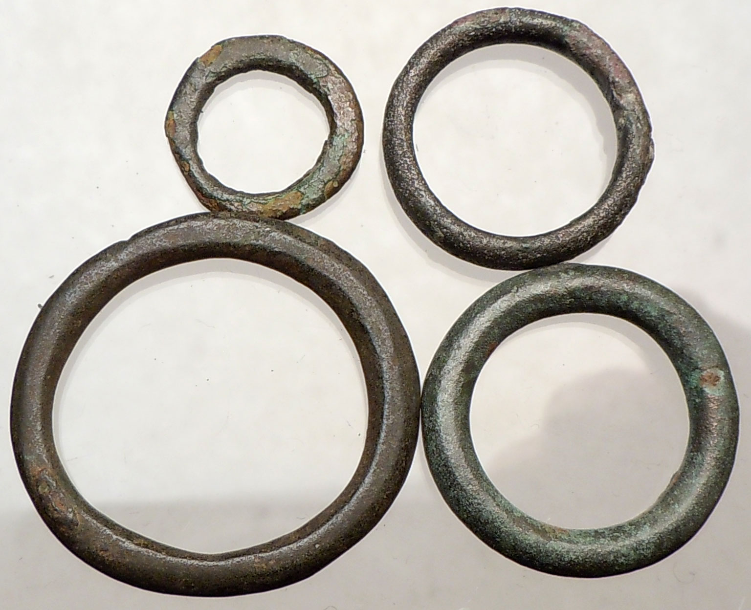 celtic 800bc authentic ancient ring money proto coin