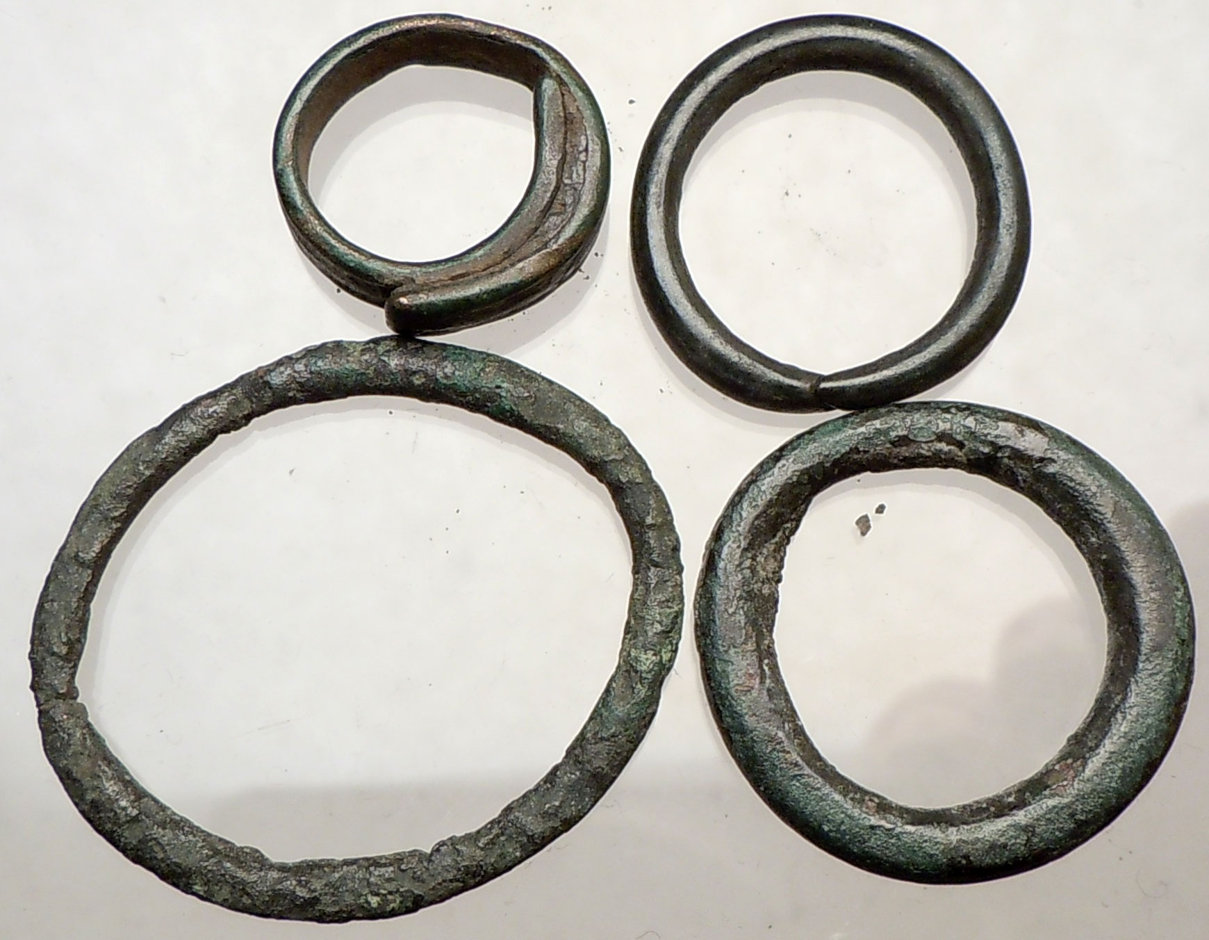 celtic 800bc ancient ring money proto coin collection
