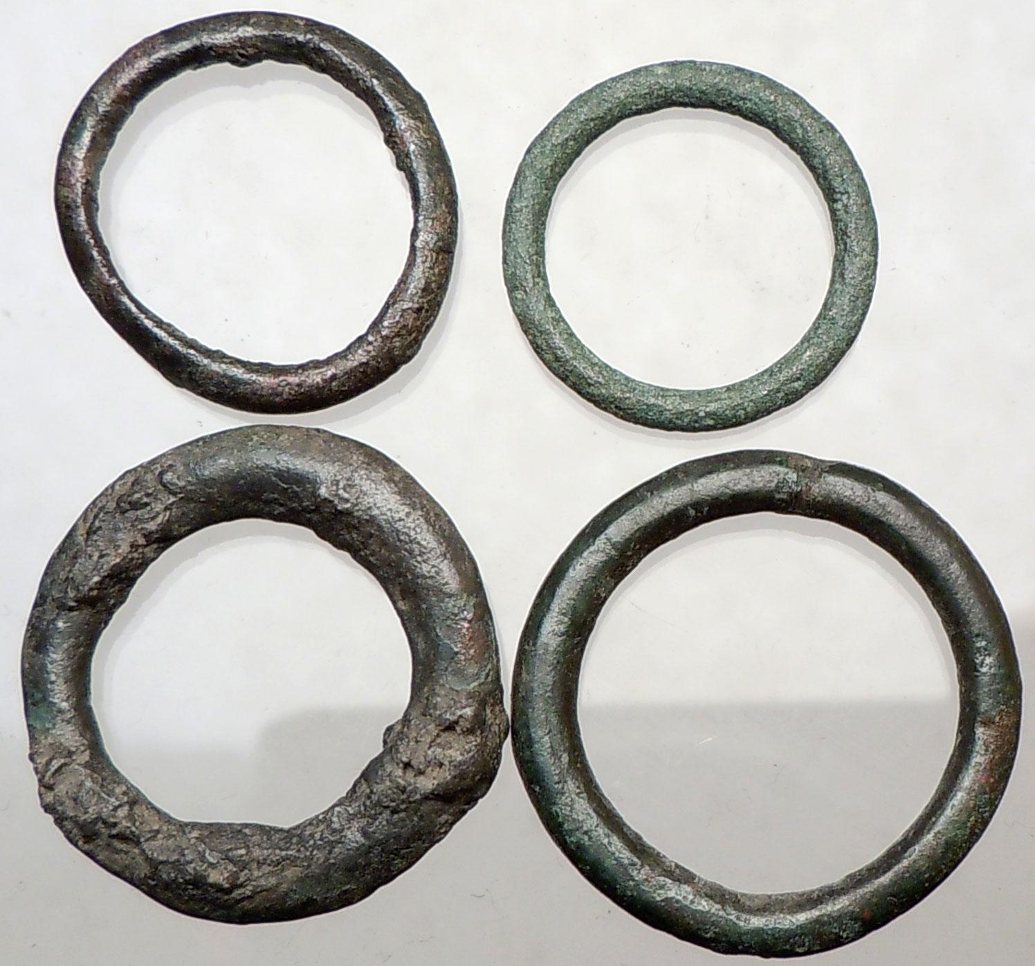 celtic 800bc ancient authentic genuine ring money proto