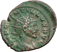 Quintillus Ancient Roman Coin