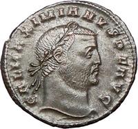 galerius roman coin
