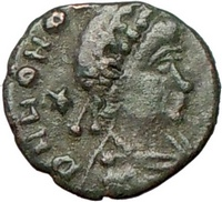 Honorius Ancient Roman Coin for Sale