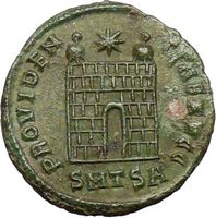 Constantine I the Great Certified Authentic Ancient Roman Coins of First Christian Emperor Reverse