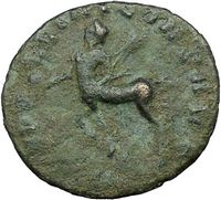 Ancient Roman Centaur Coin