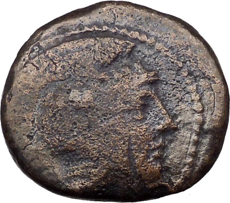 Bronce de Atenas (Atenea - Mochuelo sobre ánfora) / 195-190 a.C. I36968ob