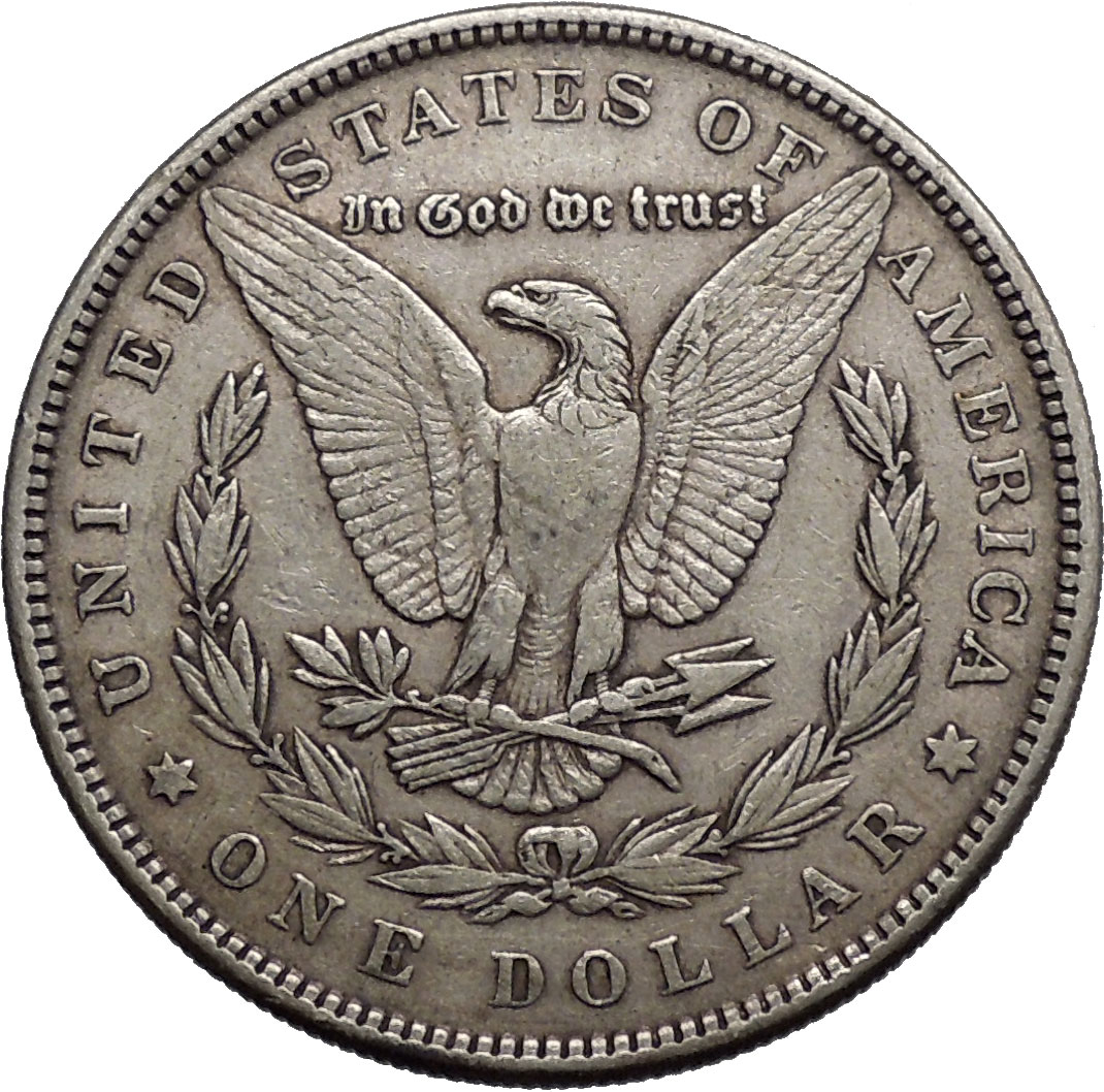 1884 Morgan Silver Dollar United States Of America Large