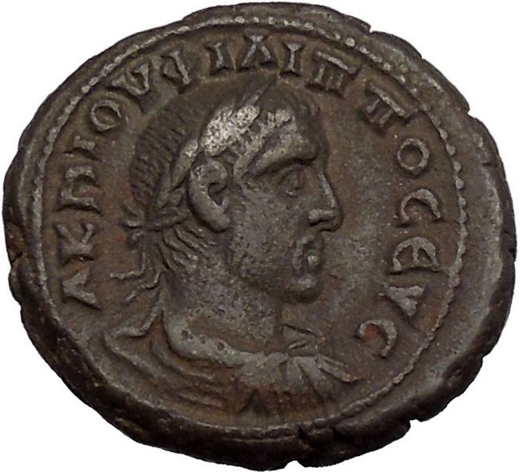 Philip I The Arab 248AD Tetradrachm Alexandria Egypt