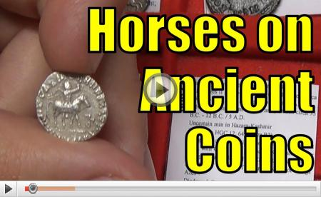 Horses on Ancient Greek and Roman Coins